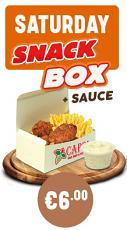 Saturday Snack Box + Sauce Special